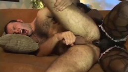 FUCKED BY A BLACK TRANSVESTITE 3 - Scene 3