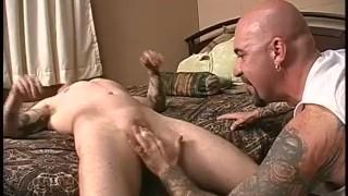 Ebony anal huge dildo