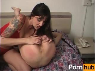 Because i am the mom she stuffed a dildo up my ass 5 scene 1, pornhub.com tattoo lingerie heels raven spanking