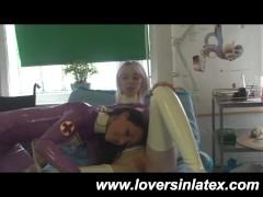 Hot Lesbian Latex Nurses
