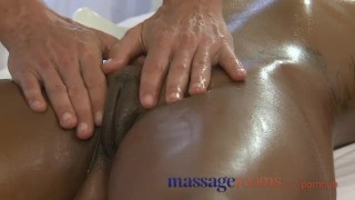 Preview 4 of Massage Rooms Black girl orgasms after erotic session