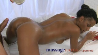 Massage Rooms Black girl orgasms after erotic session 18 very