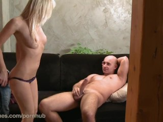 Brooke jameson smoking danejones hd jealous boyfriend shown love by his hot blonde gf, female friend