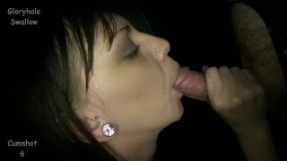 Gloryhole Swallow Lynn  swallow lynn cumshot blowjob gloryhole