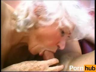 Granny Sucks Some Dick