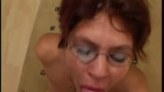 Glasses hair pic porn short xxx Short haired german broad with glasses