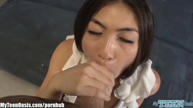 Mika kim anal - Asian schoolgirl loves big cocks
