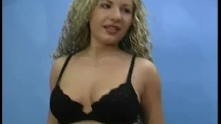 Sexy Blonde Plays and Sucks
