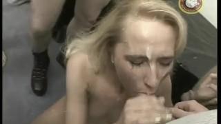 Masters cumshot orgy boobs