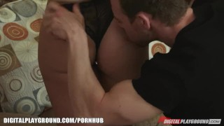 Mischa Brooks has her fat ass pounded by big dick