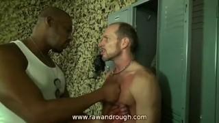 Military jack off jackoff interracial