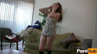 Around schoolgirl toying young vibrator