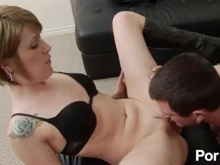 Former hustler hotties young tattooed girl pleasuring her man, pornhub.com skinny strip butt booty blowjob