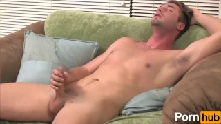 Cock blueeyed stroking his hunk athletic eyes