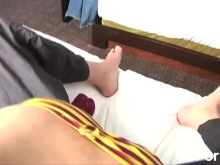 Preview 4 of Sexy Teen Dry-Humps Her Bf