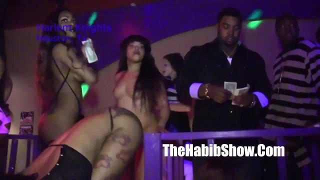 Zbone strip club Harlem knights strip club with lil scrappy making it rain 15k