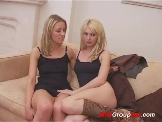Preview 5 of Wild group lesbian sex dildoing pussy and ass hard