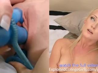 ECG Tiffany Eye Rolling Teen Orgasms