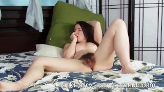 Lee amateur her annabelle milf hairy fingers pussy pussy masterbation