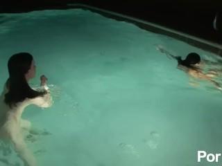 Anette dawn fuck spring break bts 4 scene 6, pornhub.com pool wet babes outdoors outside