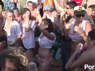Wild party girls spring break porn movies