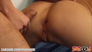 Anal drilling with krystal love deepthroat cumshot
