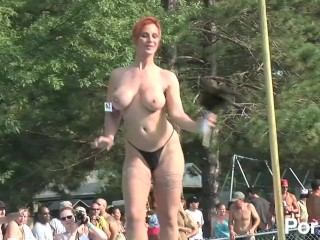 Party Cove Sex Videos Fucking, NUDES a POPPIn 2005- Scene 6 Striptease Red Head Role Play