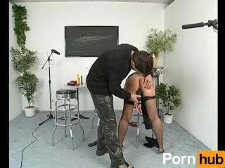 Free big booty sluts short haired cougar masturbates and sucks dildos, pornhub.com cougar dildo brunette small butt