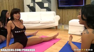 Brazzers LIVE Yoga FLEX - Next Show 03-20-2013 4pm EST 1 pm PST  ass lesbians blonde pornstar tattoo brazzers skinny live milf japanese array brunette mature groupsex stockings titty fucking