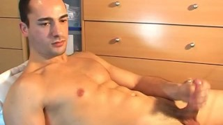 Gay soccer wanked player get alex guy a by jerking hunk