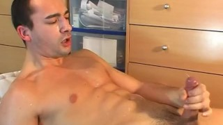 Alex soccer player get wanked by a gay guy