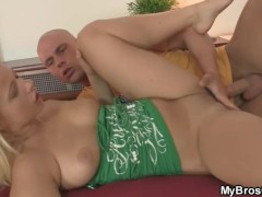He finds his slutty GF cheating