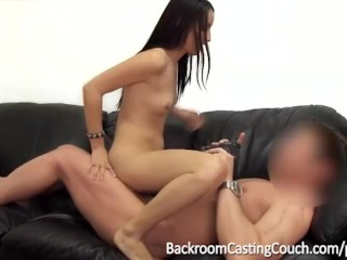 Ambush Creampie & Her First Anal