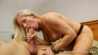 Zia cock milf sucking mom wife