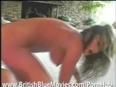 British Vickie Powell gets her pussy pounded HARD!