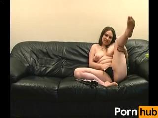 Busty Girl Masturbates