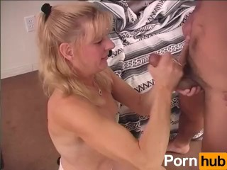 Mom Gives A Handjob