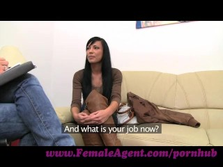 FemaleAgent. Beautiful webcam model steals the show