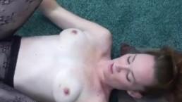 Redhead wife Navaya getting fucked