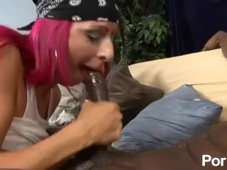 Interracial Sex Queen - Scene 5