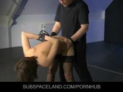 Lesbian scene mistress loses control
