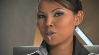 Preview 5 of Private Pearls: Asian Sai Tai Tiger in the Pornolympics TV News Bukkake