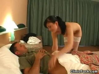 Ready To Fuck Now Women Fucking, Nasty Lady Doctor Strips and Cock Sucks Blowjob Striptease Role Pla