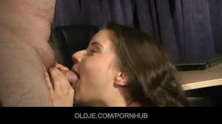 Anita seduce and fuck her Oldje music teacher porno