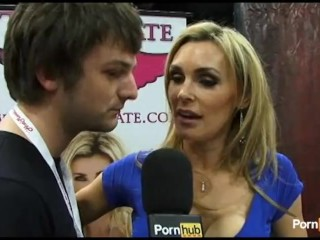 PornhubTV Tanya Tate Interview at eXXXotica 2011