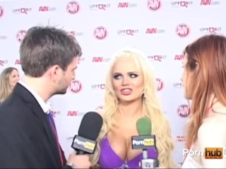 PornhubTV Alexis Ford Interview at 2012 AVN Awards