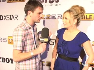 PornhubTV Bree Olson Interview at 2012 AVN Awards