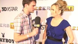 PornhubTV Bree Olson Interview at 2012 AVN Awards