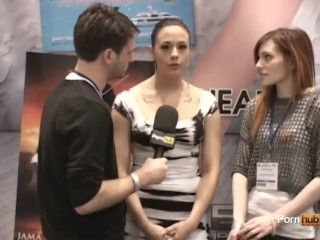 PornhubTV Chanel Preston Interview at 2012 AVN Awards