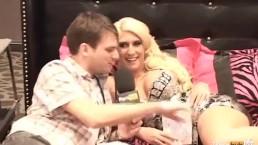 PornhubTV Kelli Staxxx Interview at 2012 AVN Awards